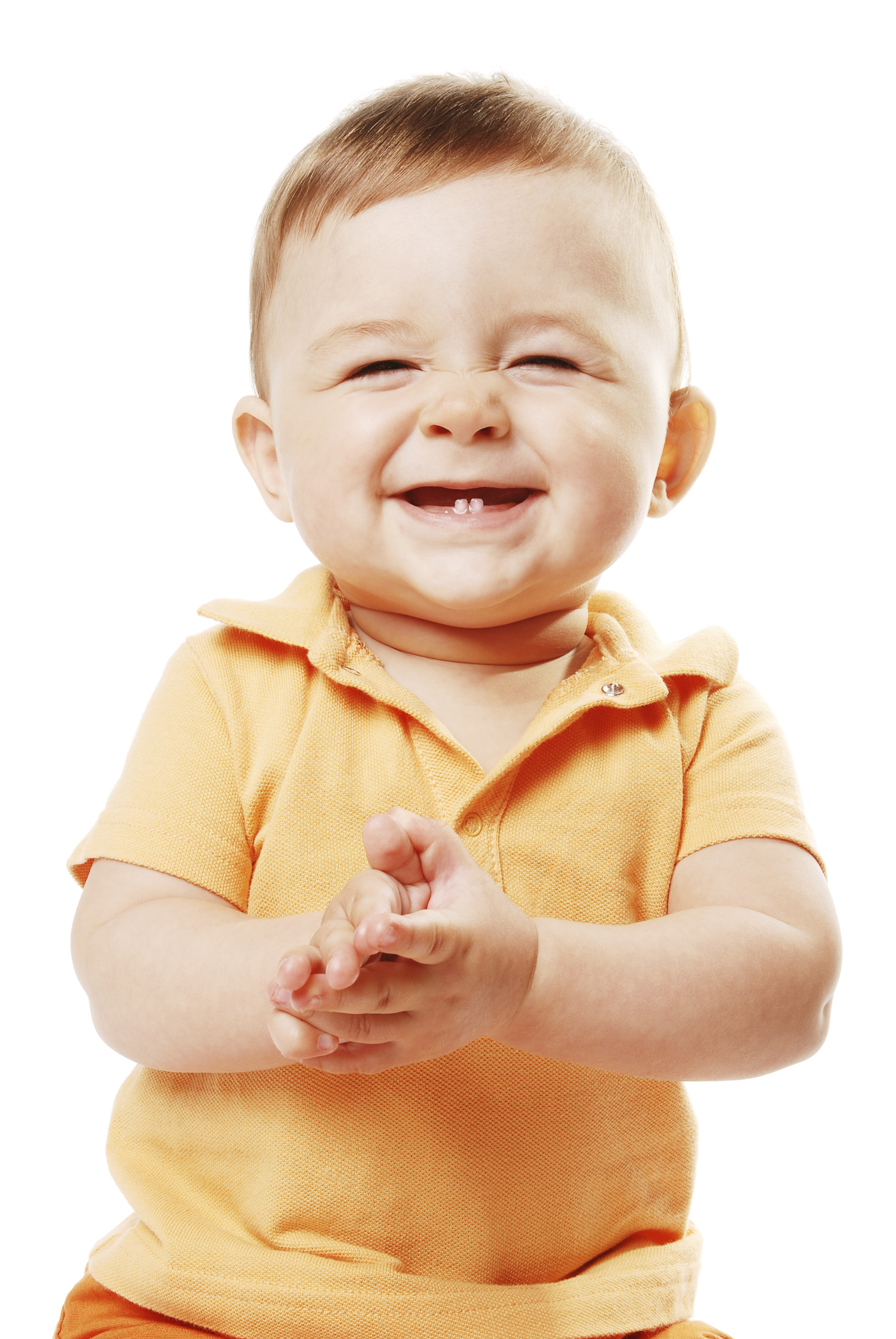 Baby clapping