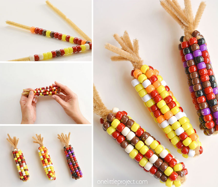 Beaded Calico Corn