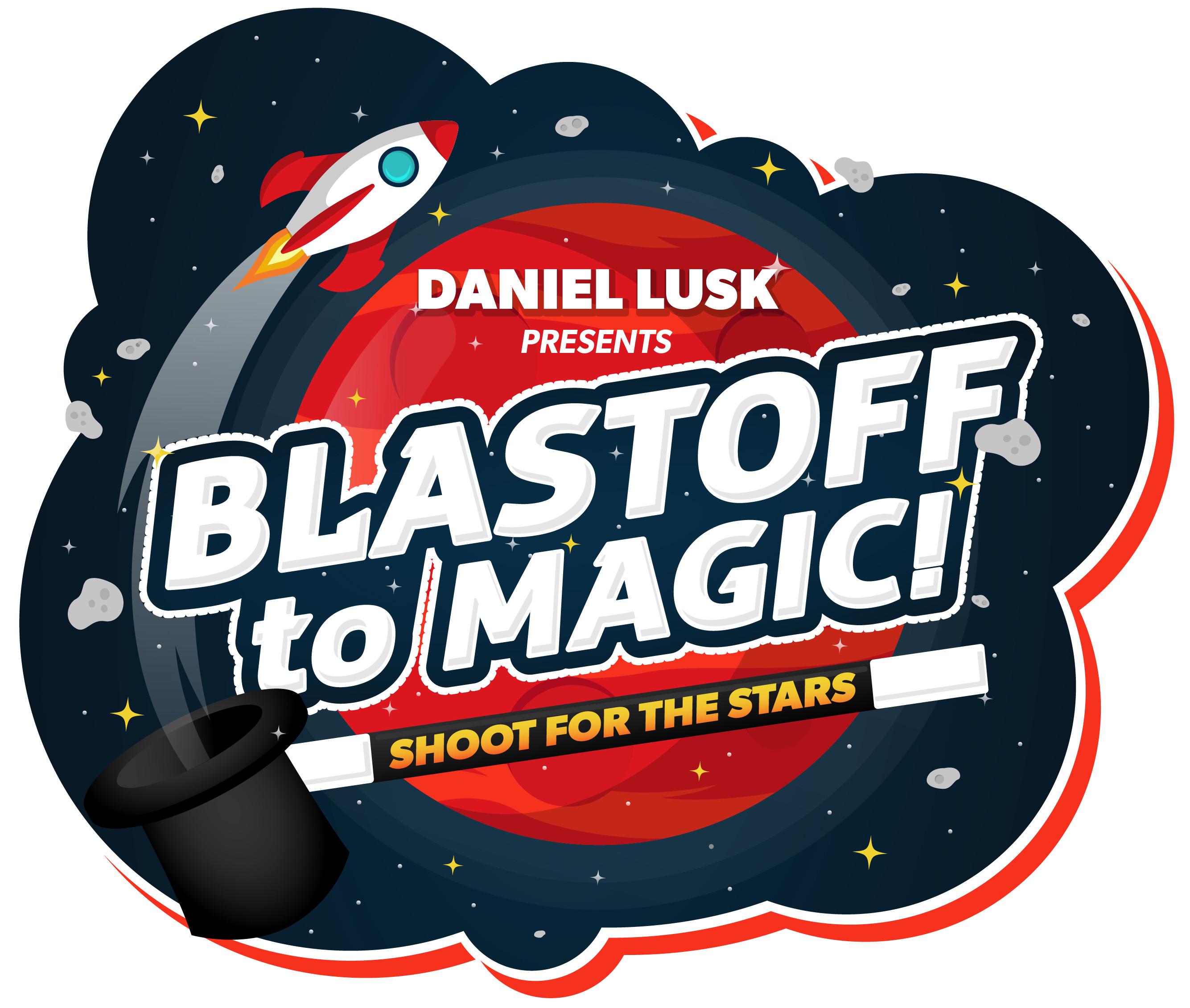 Blastoff to Magic logo