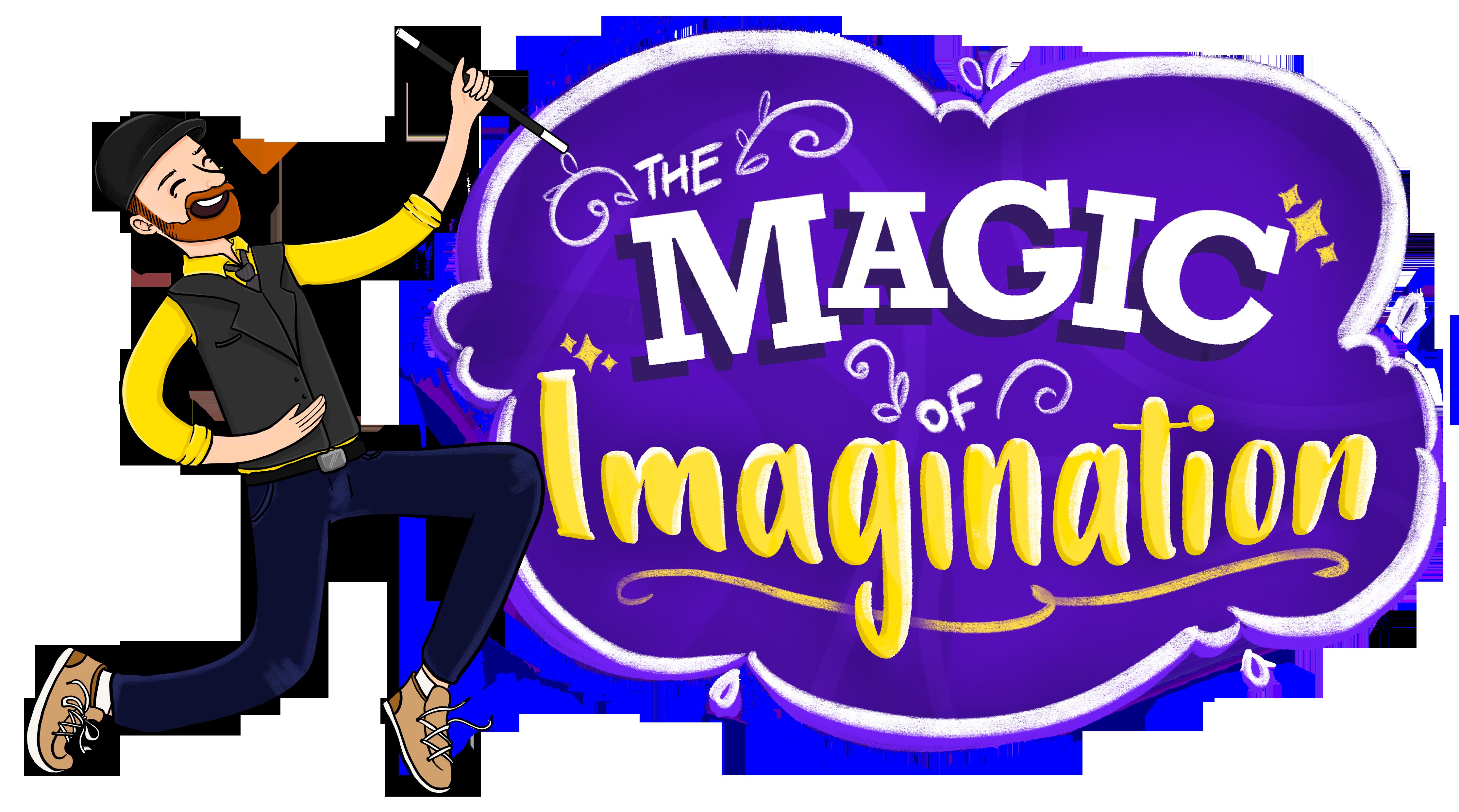 Image of Daniel Lusk's logo - The Magic of Imagination