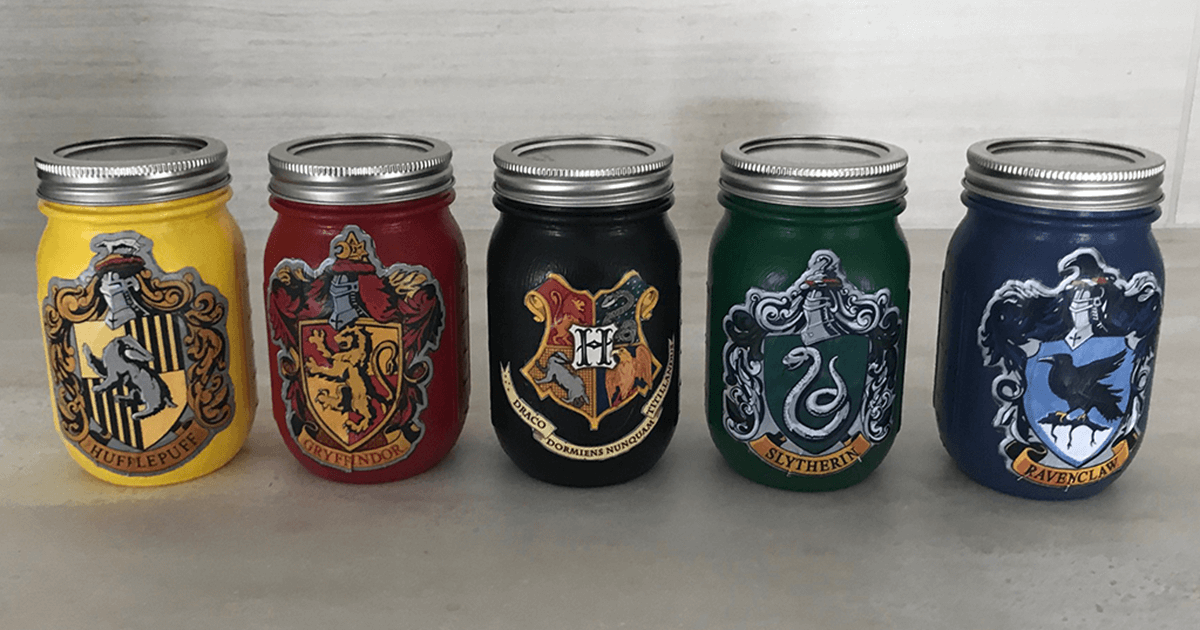 Harry Potter Jars