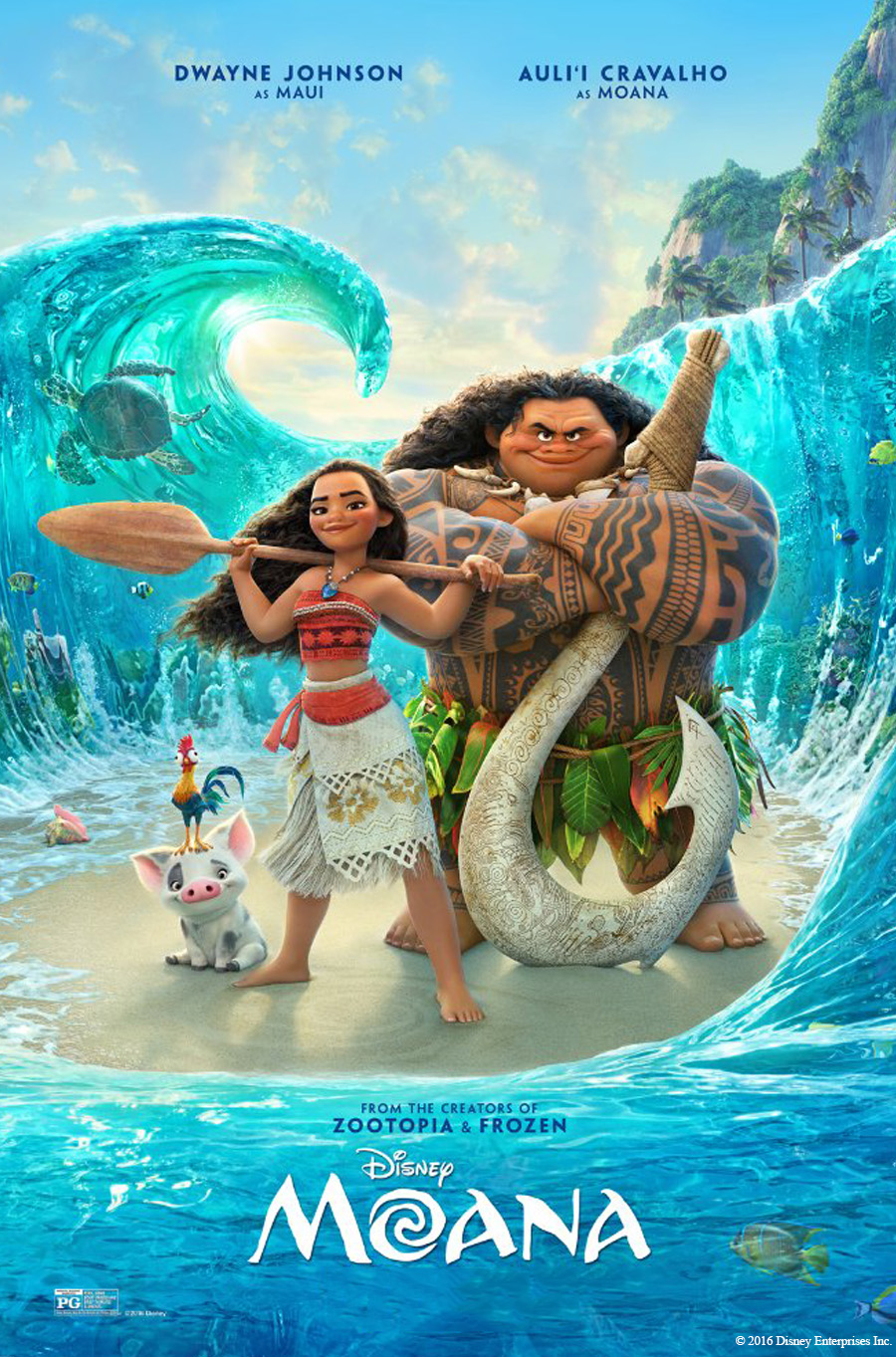 Moana movie poster.