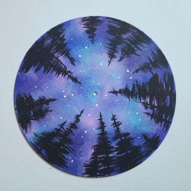 Indie Art Studio Space Painting