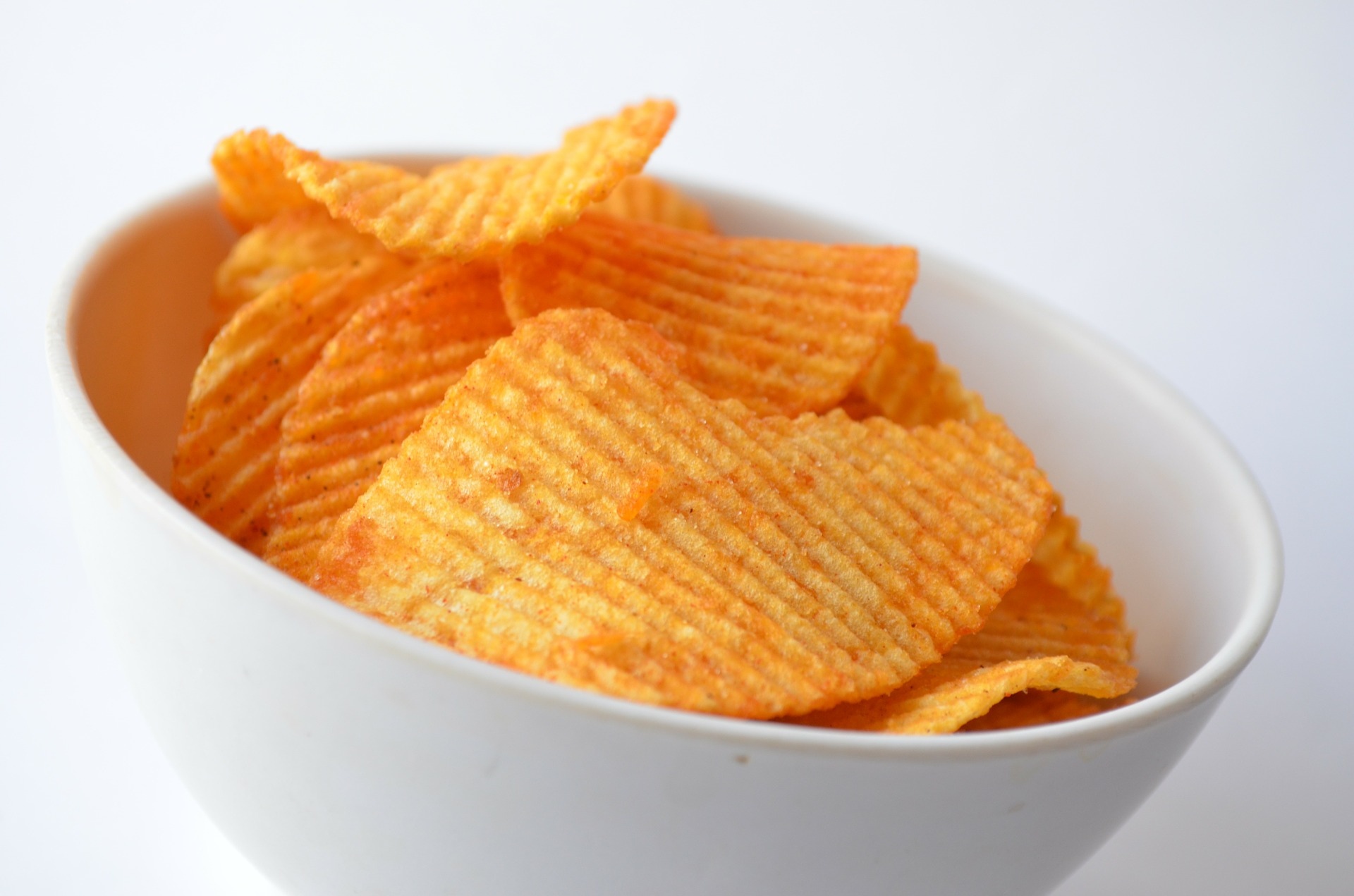 Image of bowl of potato chips.