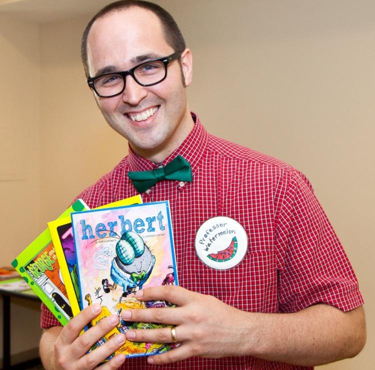 professor watermelon author visit
