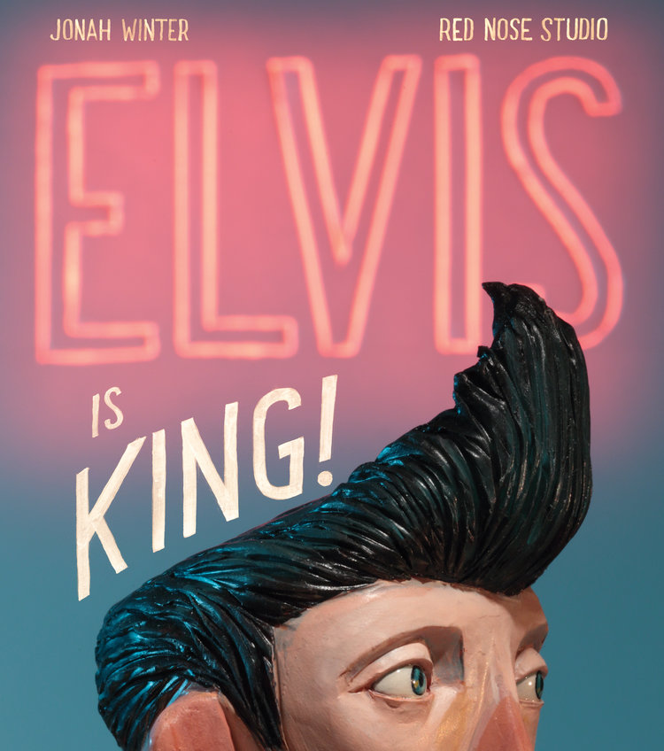Book cover of Elvis is King!