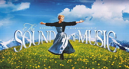 Sound of Music movie poster.