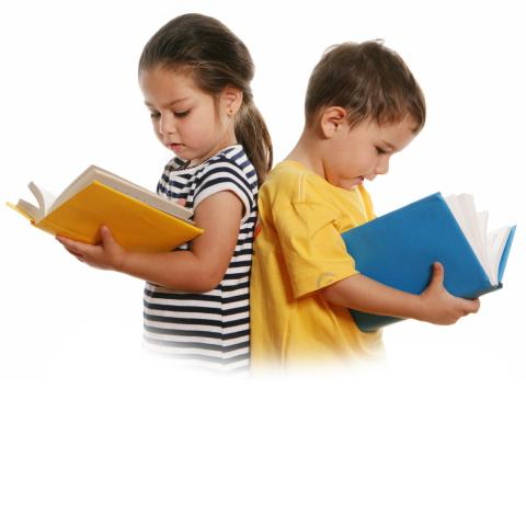 Children reading