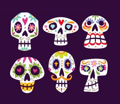 Image of skeletons.