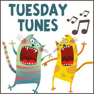 Image of monsters singing.