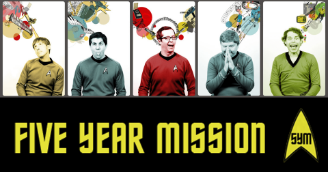 Five Year Mission at the Library in Greenfield