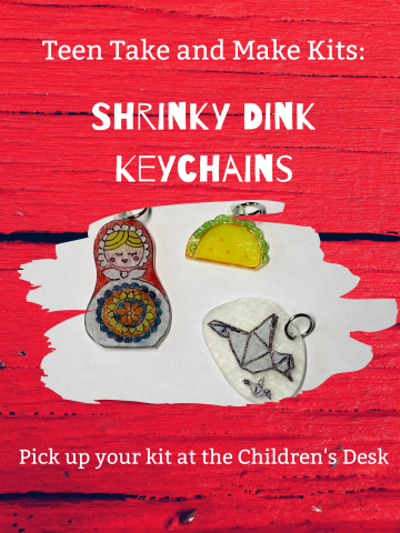 Shrinky Dink Keychains